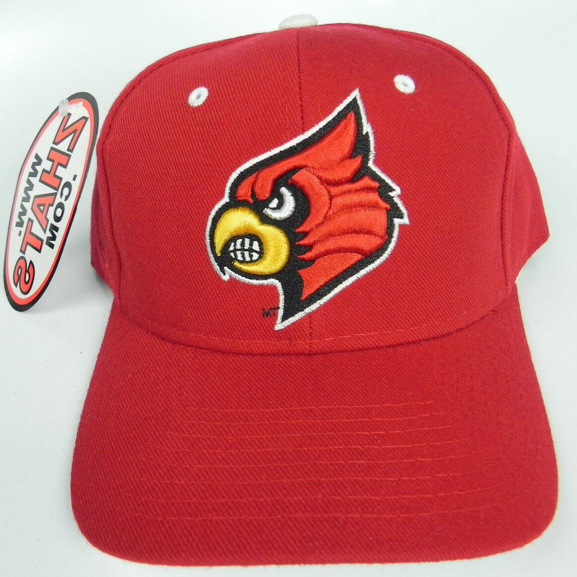 LOUISVILLE CARDINALS RED VINTAGE SIZED DH