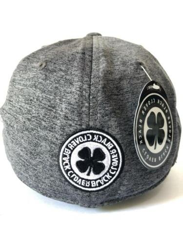 Black Clover Mens Fitted Hat. Size L/XL