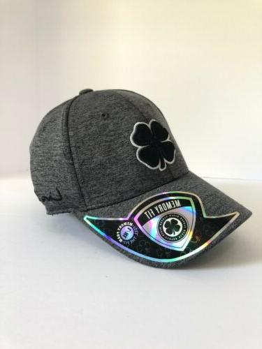 lucky heather mens fitted hat charcoal size