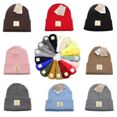men s acrylic watch beanie warm winter