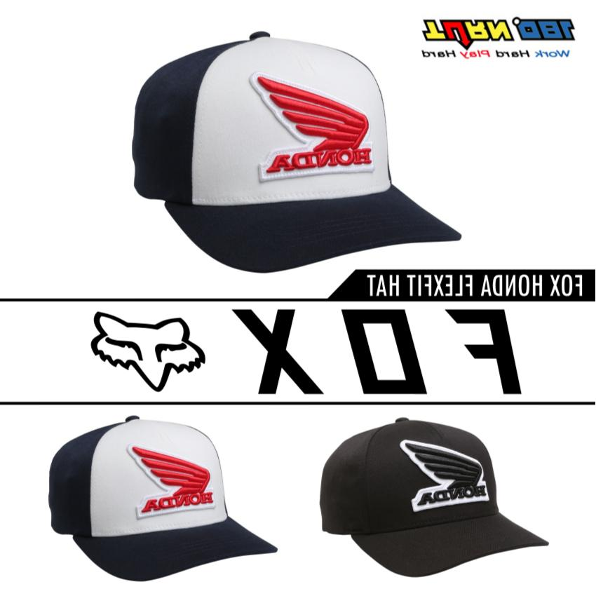 men s honda flexfit hats fitted curved