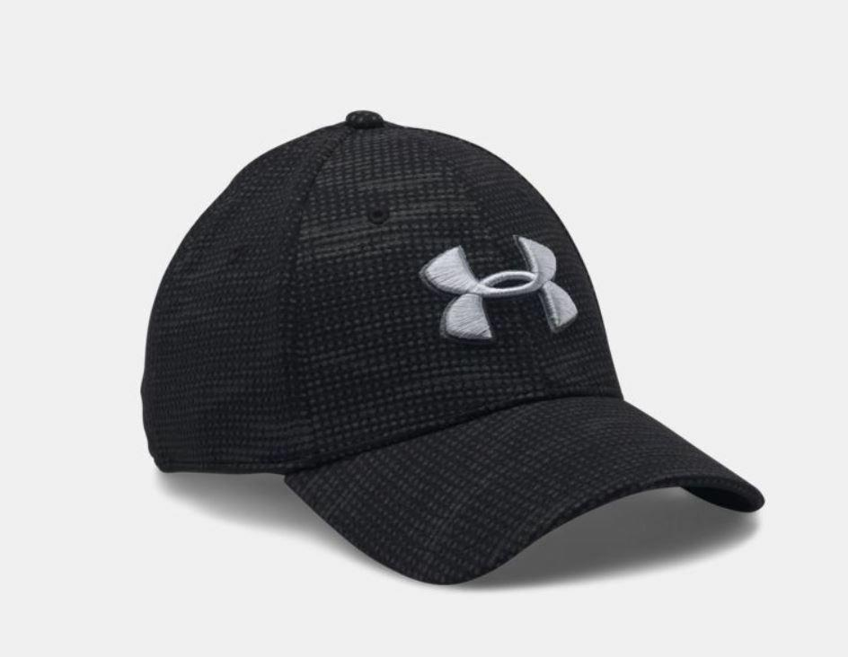 Under Armour Men's UA Blitzing Stretch Fit Hat Size M/L Blac
