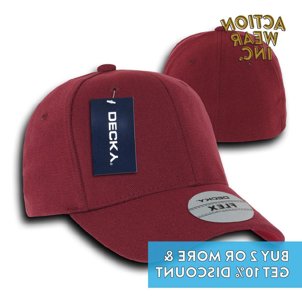 DECKY MEN'S BASEBALL CURVED CAPS +9 COLOR