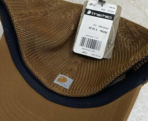 Carhartt Large/XL Hat NWT Cap Authentic Brown Sale