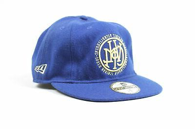 mens mute 8 panel fitted hat royal