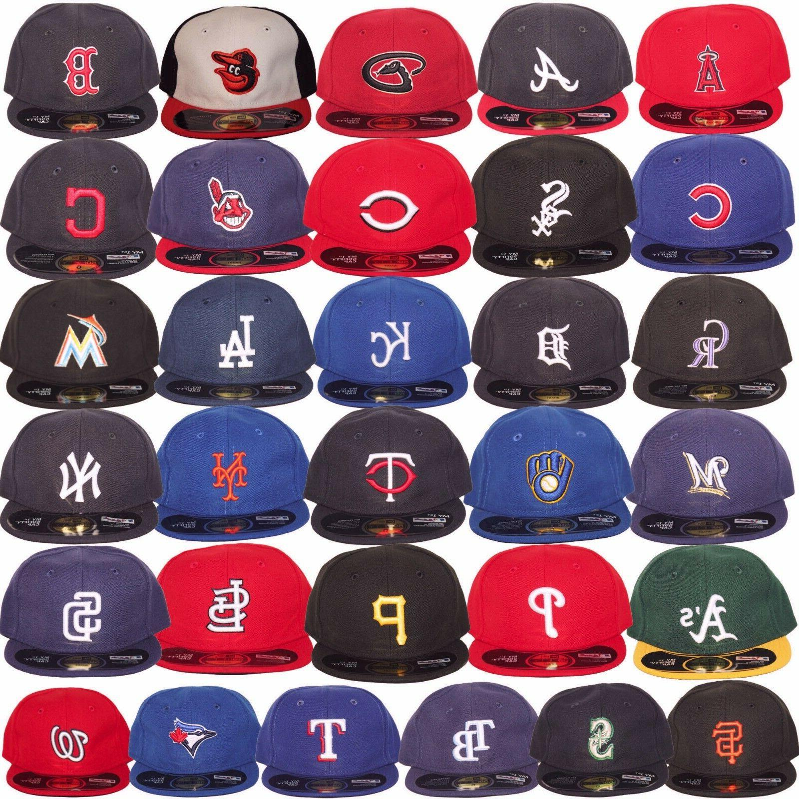 New Era MLB Infants Newborn Baby My 1st 59Fifty 5950 Fitted