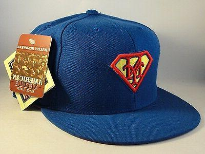 MLB New American Needle Superman Hat