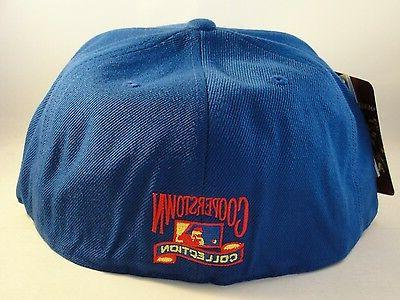 American Superman Fitted Hat Blue