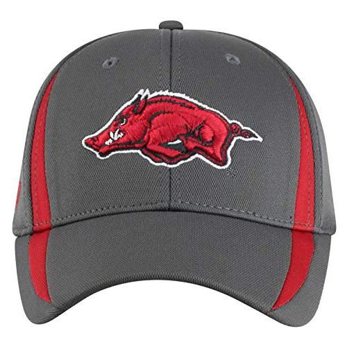 Top NCAA Arkansas Men's Performance Charcoal Triumph Icon Charcoal