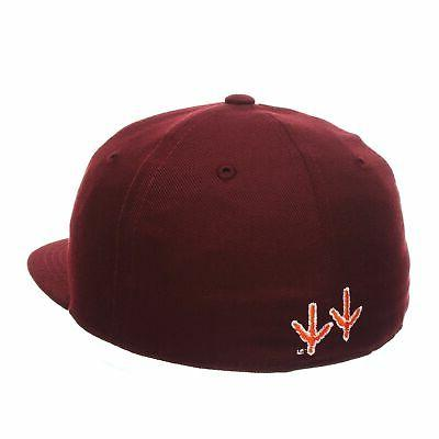 ZHATS NCAA Mens Fitted Hokies New