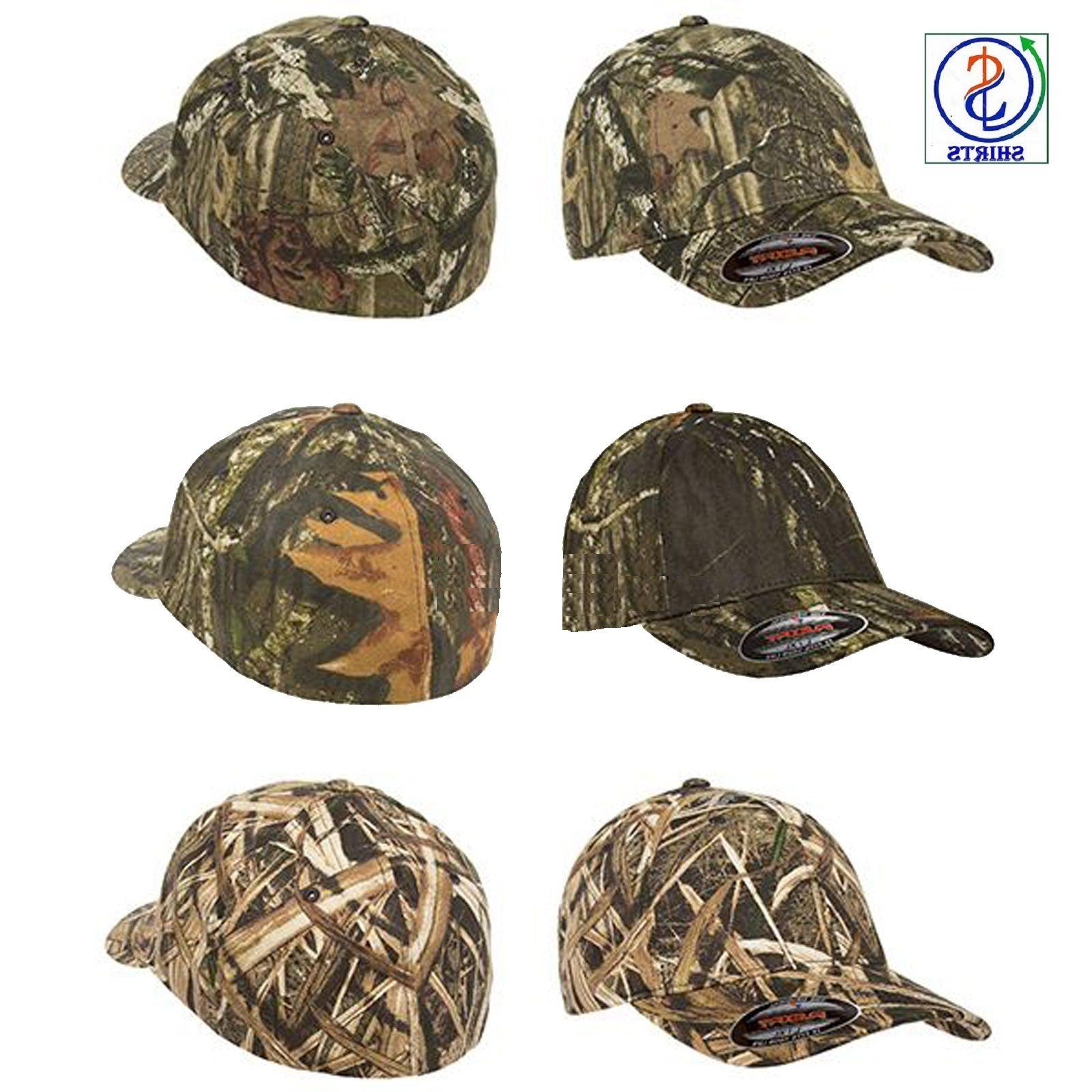New Flexfit 6999 Mossy Oak Infinity Camo Fitted Caps Hats S/