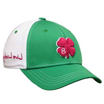 new china luck green white red fitted