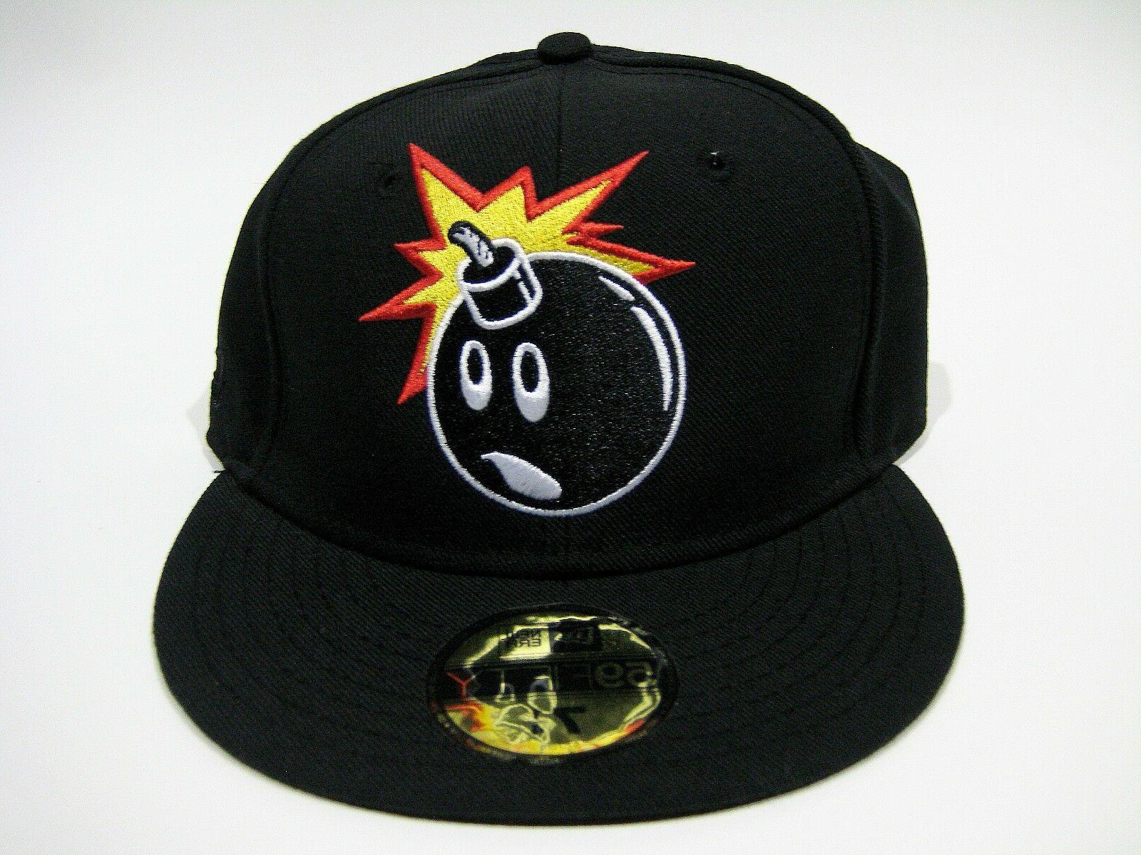 new era fitted hat forever adam black
