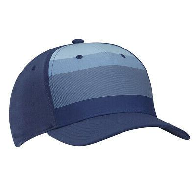 new golf tour stripe noble indigo fitted