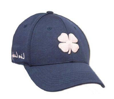 new live lucky heather navy fitted l