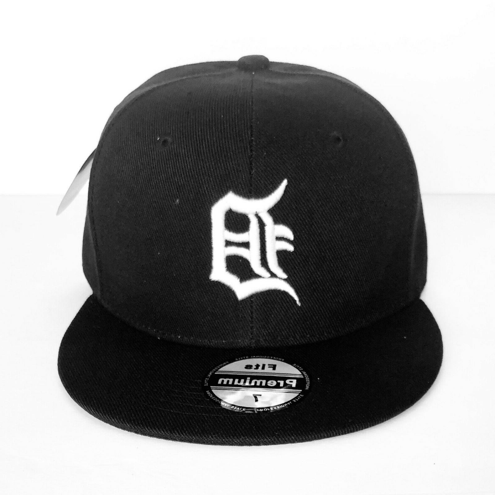 new mens detroit tigers baseball cap fitted