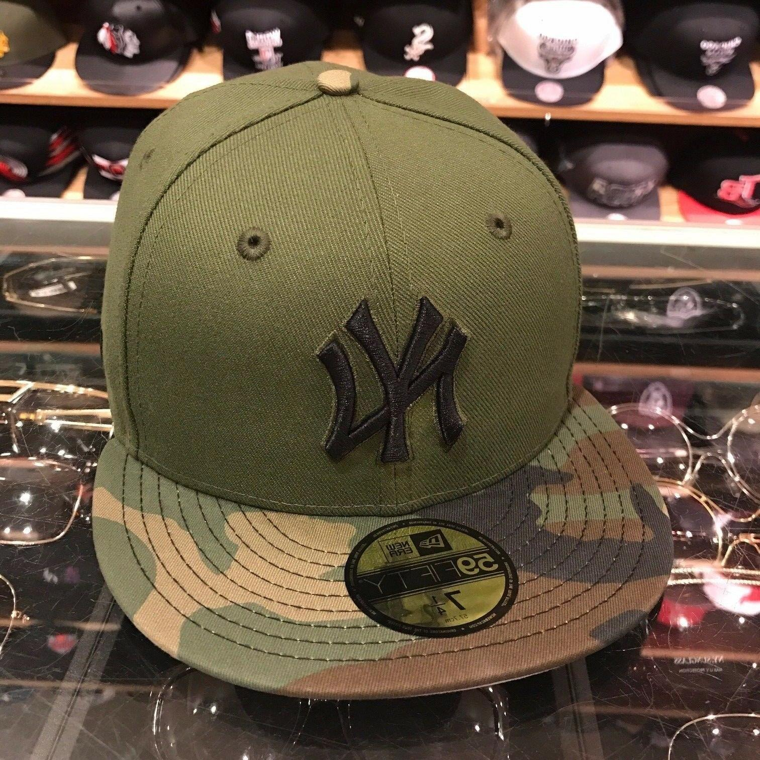 New Era New York Yankees 2017 Memorial Day Fitted Hat GREEN/