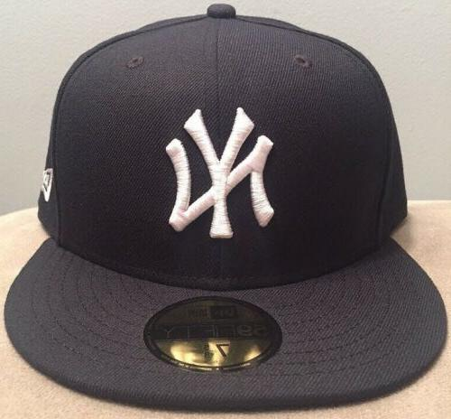 new york yankees fitted hat cap size
