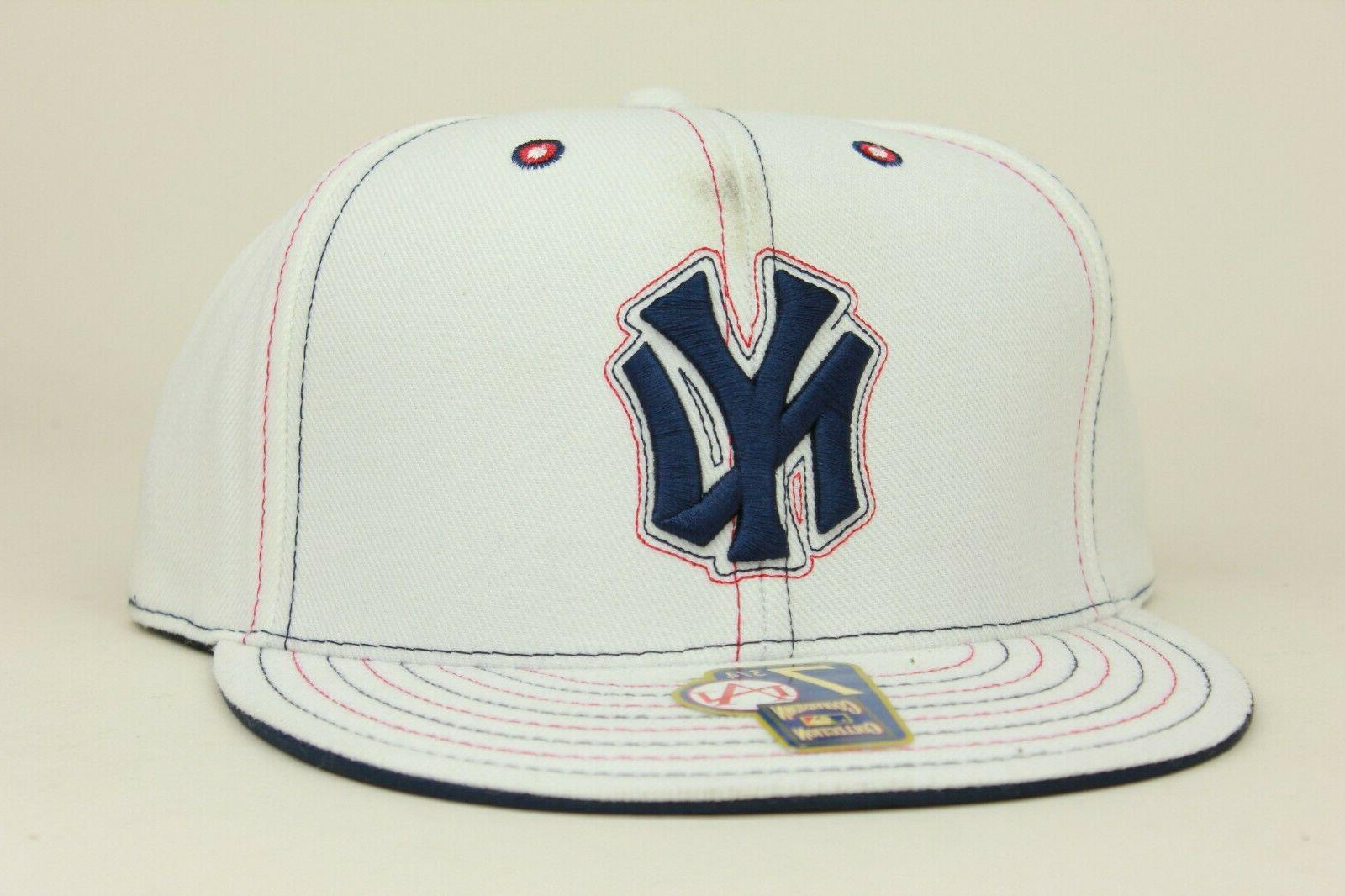 new york yankees white navy red cooperstown