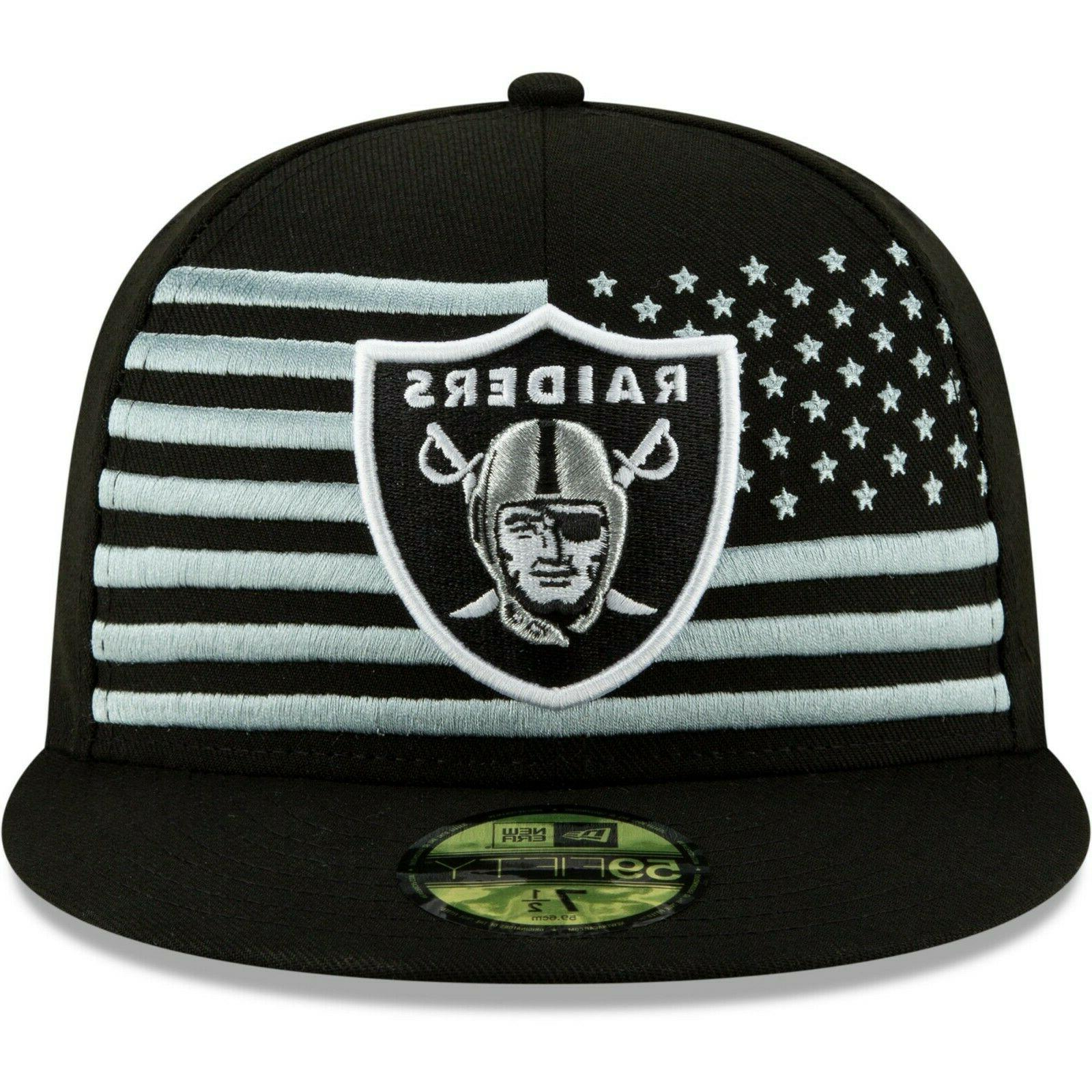 Oakland Raiders New 2019 NFL Draft On-Stage 59FIFTY Fitted