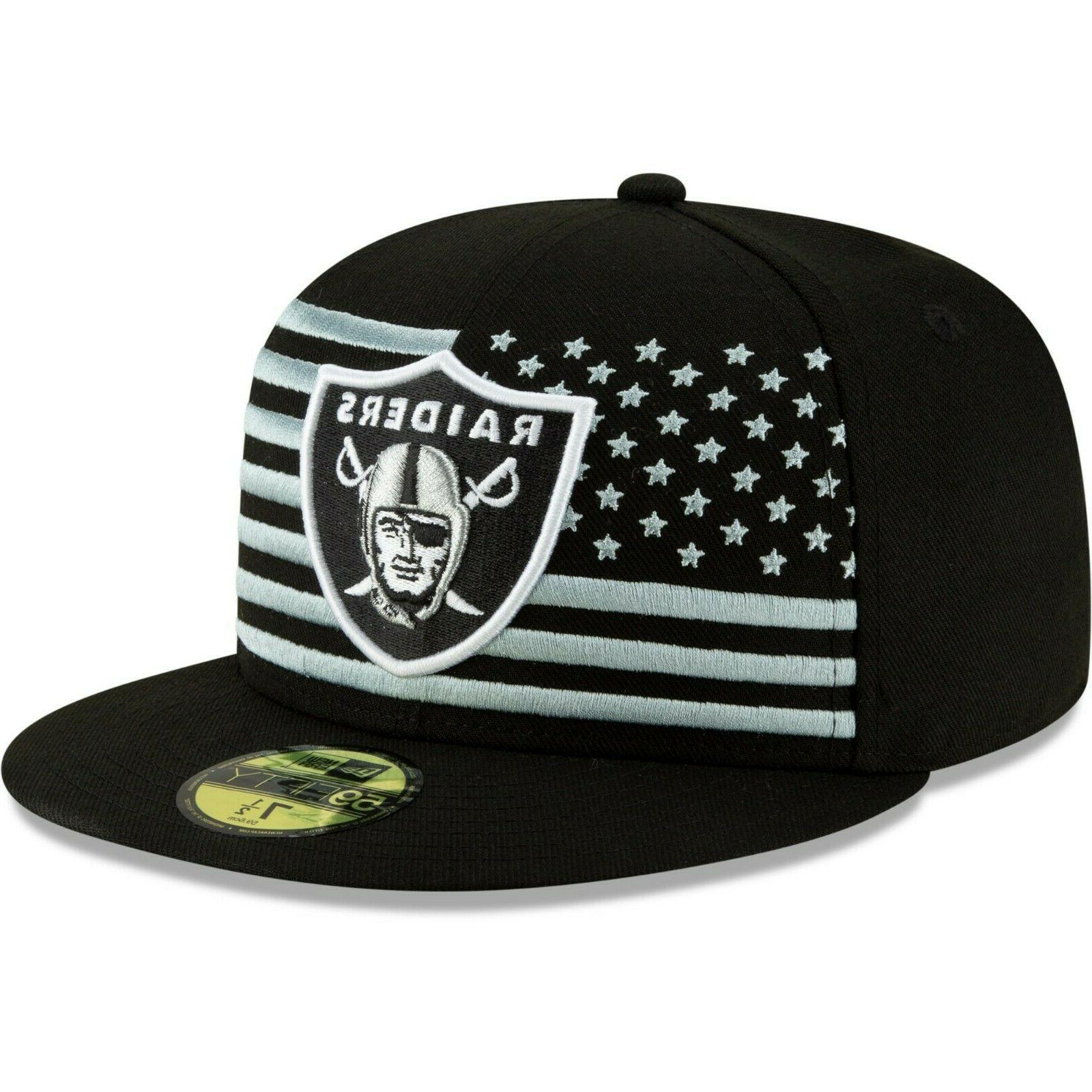 Oakland Raiders 2019 NFL On-Stage 59FIFTY Fitted