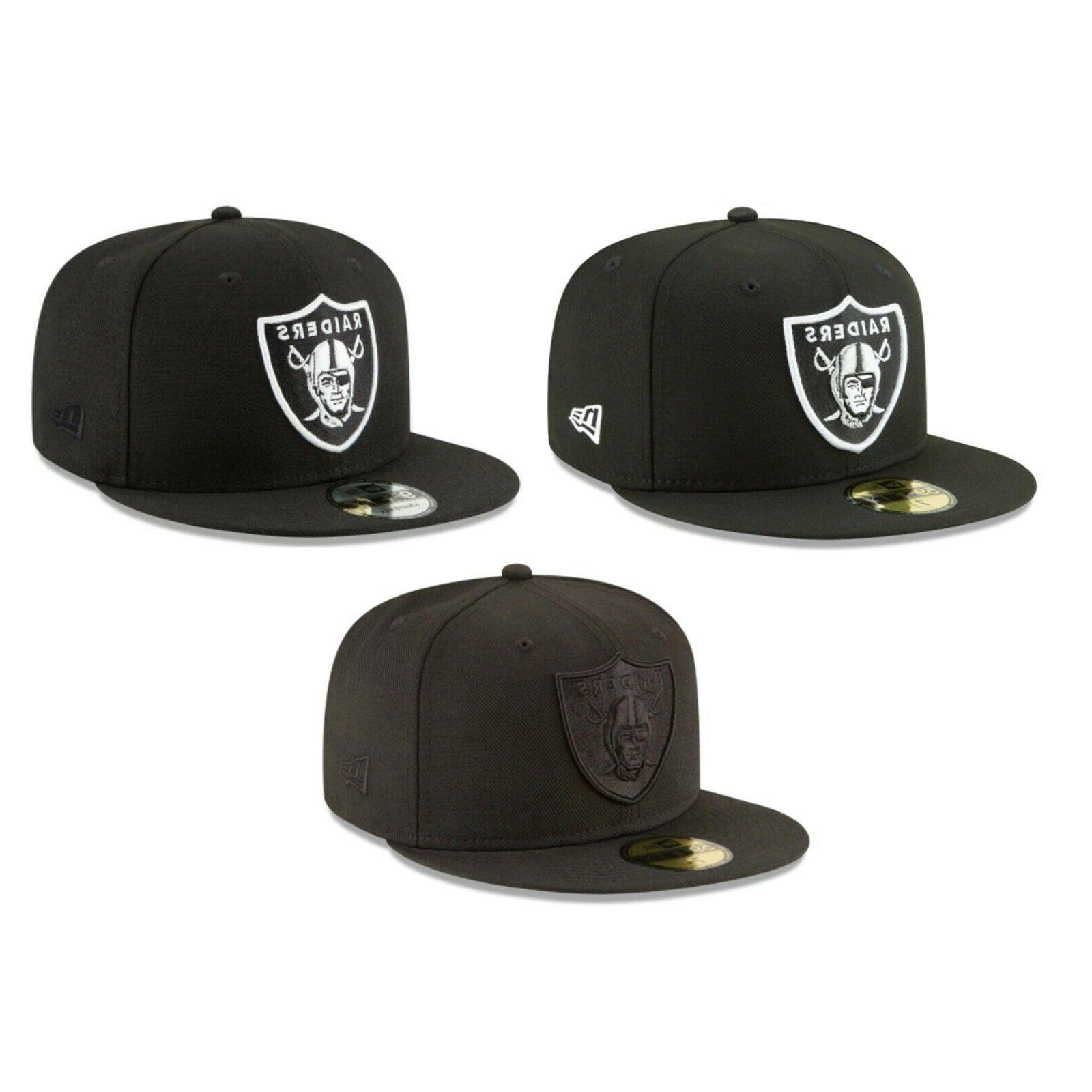 oakland raiders nfl 59fifty 9fifty fitted snapback