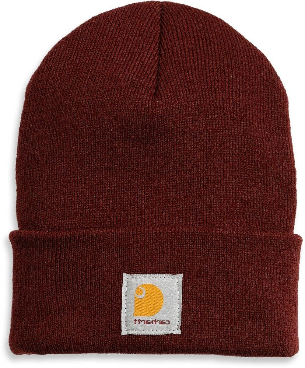 Carhartt One Size Stretchable Beanie Hat, Knit 24 Colours