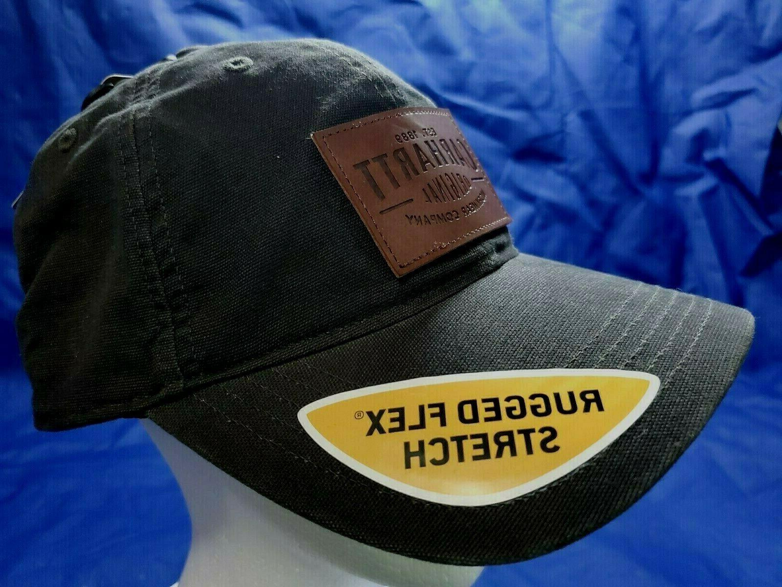 outdoors fitted black trucker hunting work hat