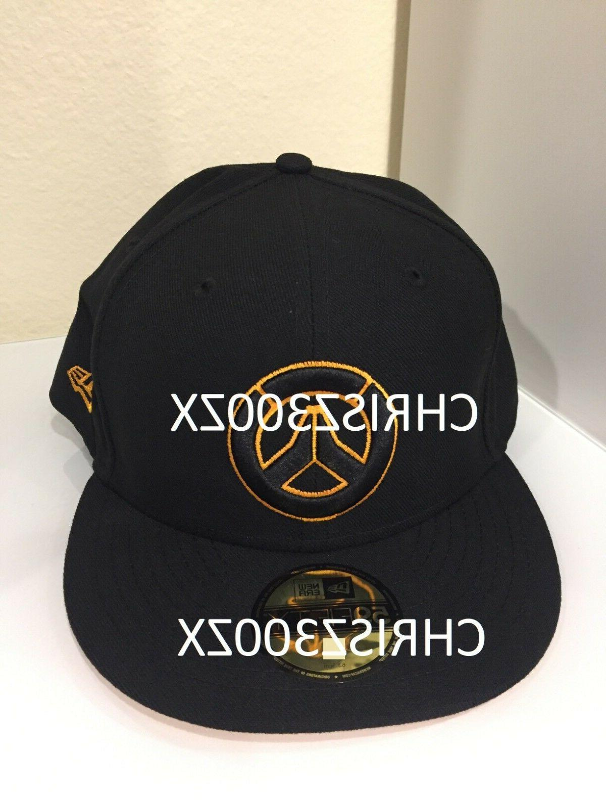 Overwatch LOGO New Era 59Fifty Fitted Hat Cap Unisex Sizes -