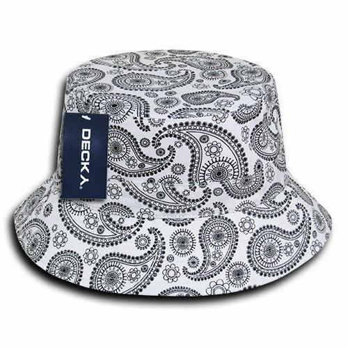 Decky Bandana Fitted Caps Cotton