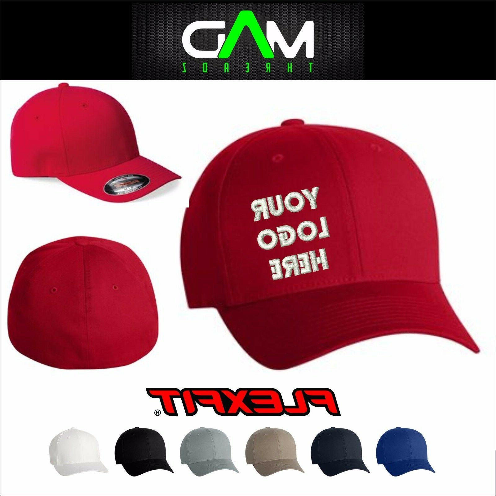 personalized custom made fitted hat cap custom
