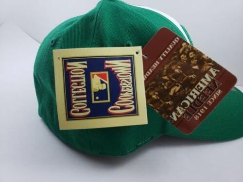 Philadelphia Phillies American Needle Cooperstown Fitted Hat Green Size