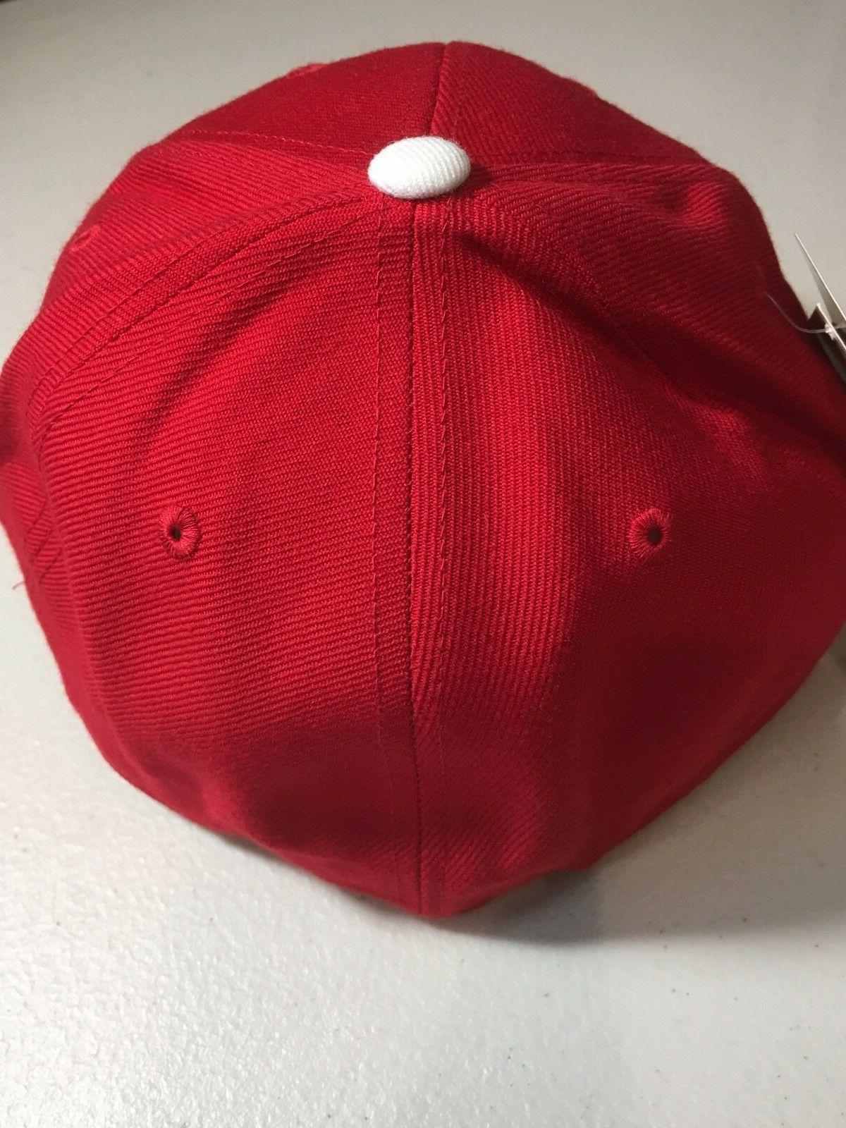PHILADELPHIA AMERICAN MLB RED FITTED