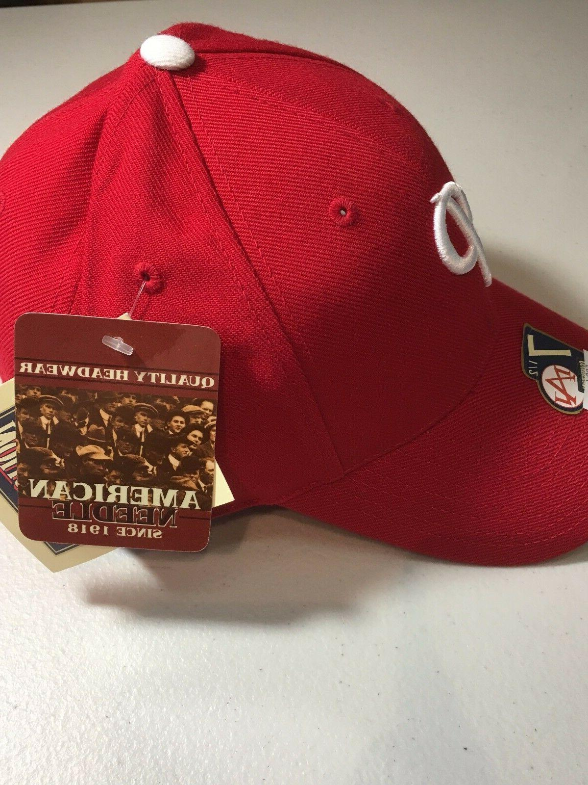 PHILADELPHIA PHILLIES AMERICAN MLB FITTED HAT