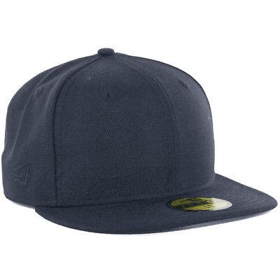 plain tonal 59fifty fitted hat dark navy