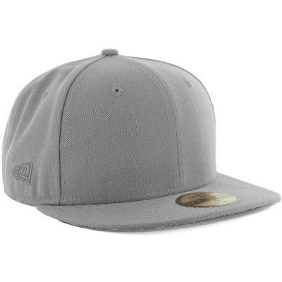 plain tonal 59fifty fitted hat grey men