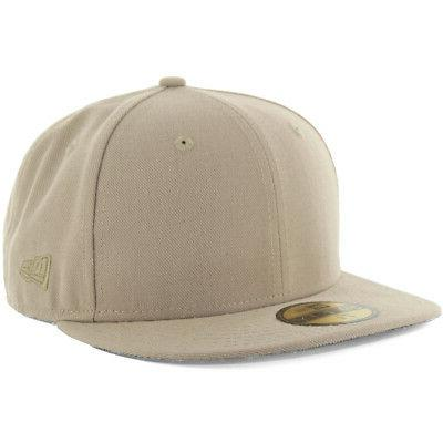 plain tonal 59fifty fitted hat khaki men
