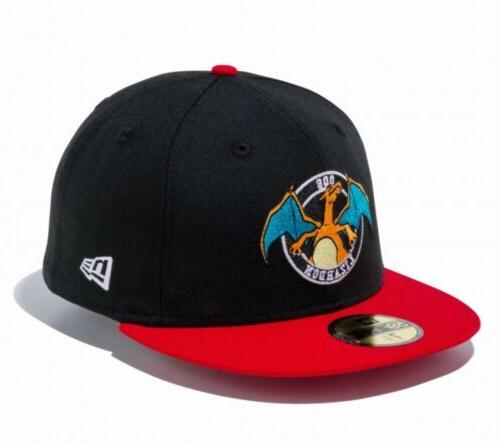 pokemon 59fifty cap hat fitted circle charizard