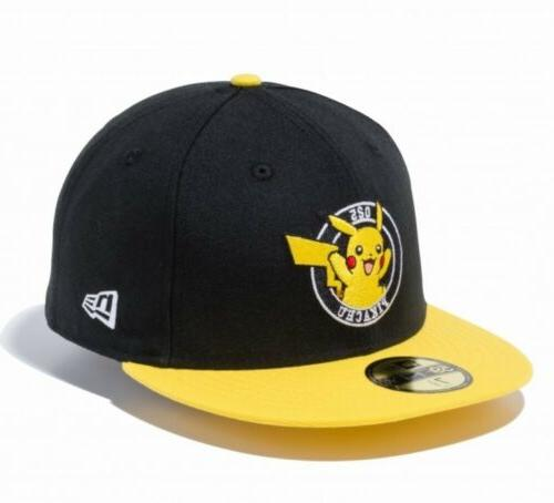 pokemon 59fifty cap hat fitted circle pikachu