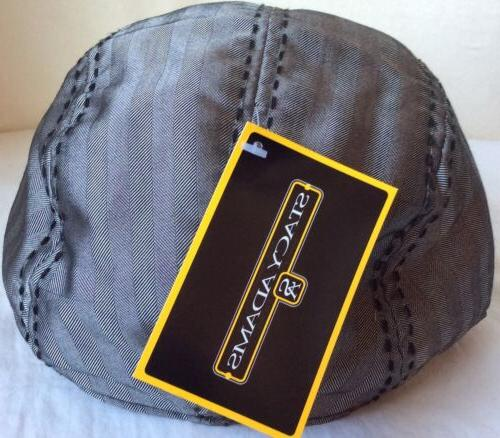 STACY ADAMS Modern Ball Cap Gray Black GREY 59CM