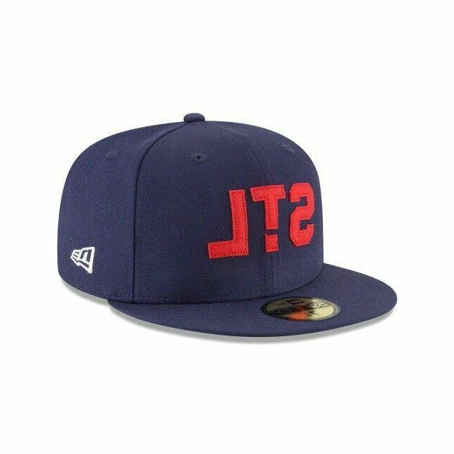 St. Louis Cardinals MLB Era Coll. 59FIFTY Fitted Hat-Blue