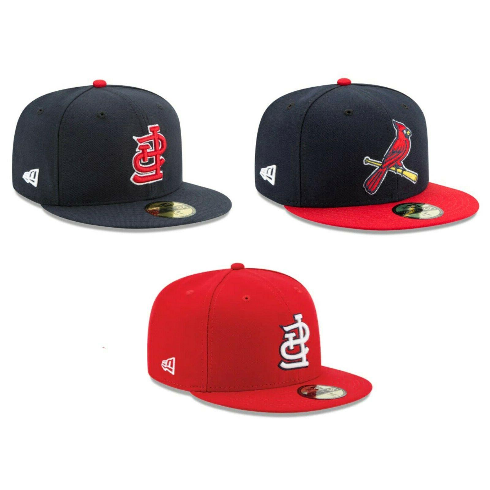 St. Louis Cardinals STL MLB Authentic New Era 59FIFTY Fitted