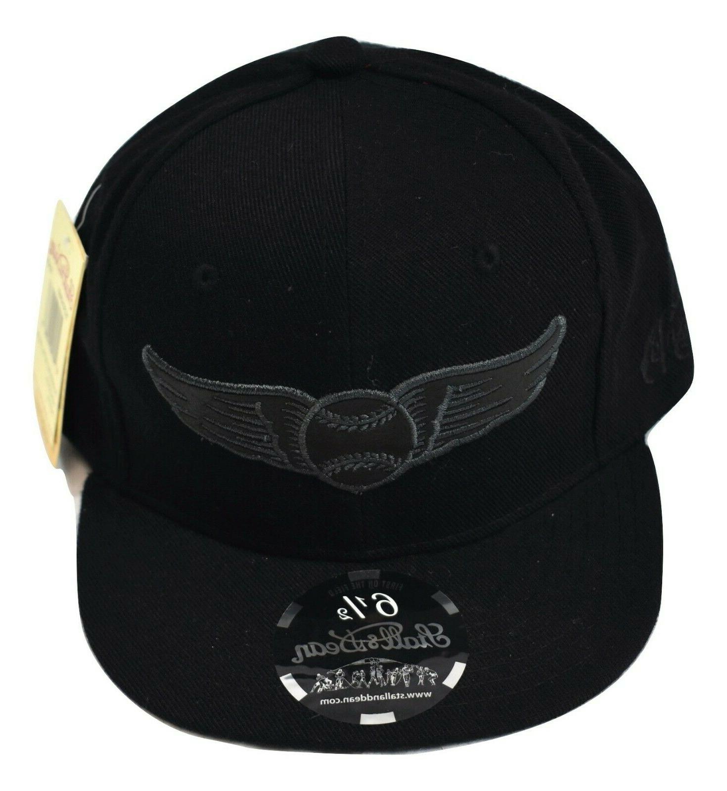 Stall & Dean Fitted Winged Baseball Cap Hat Pick Size 6 1/4