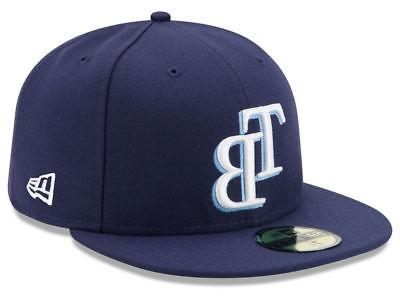 tampa bay rays game 59fifty fitted hat