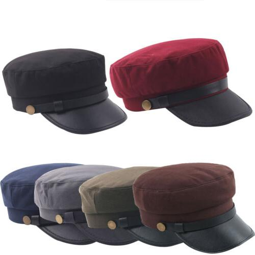 unisex summer fitted army cadet military cap