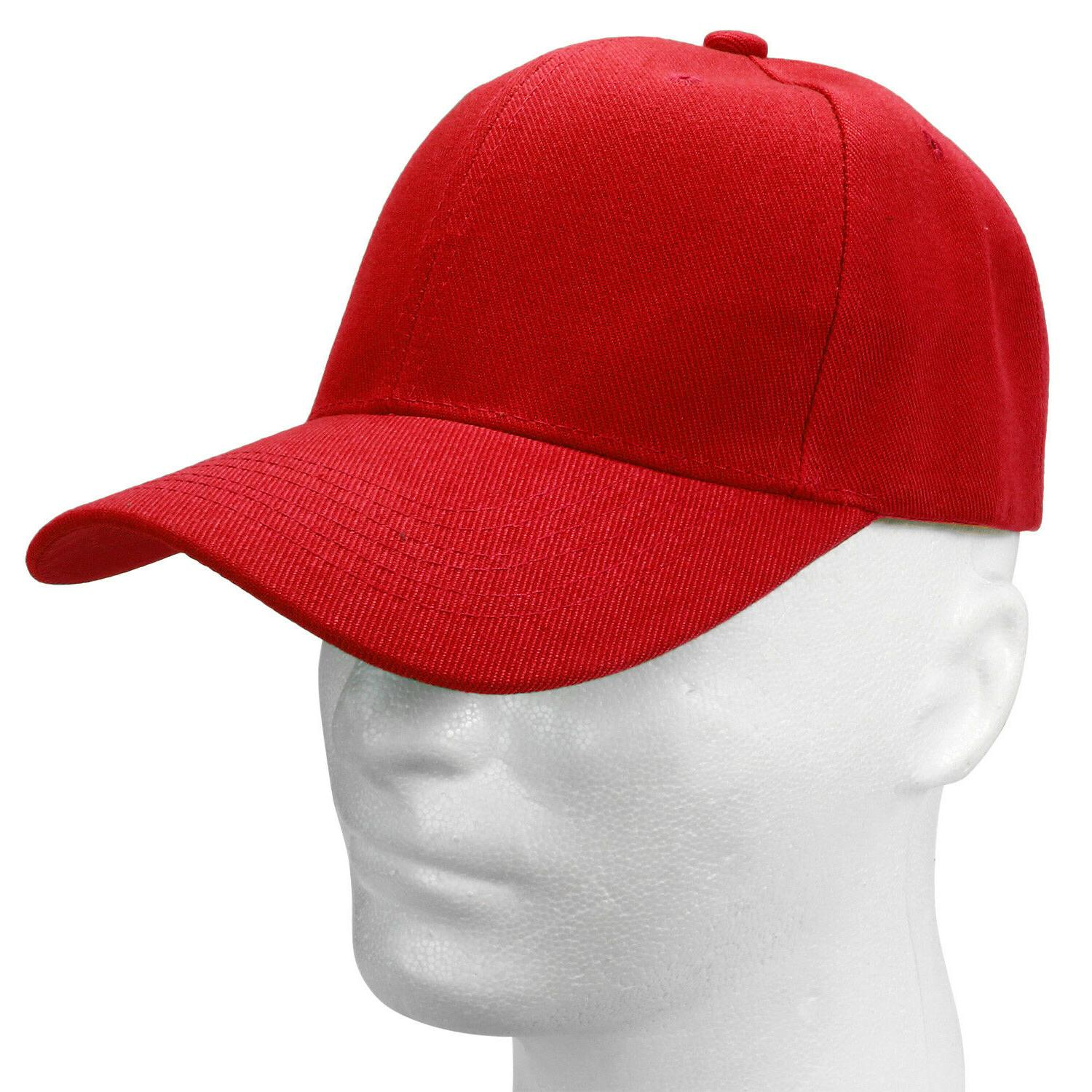 Wholesale Baseball Cap Adjustable Solid Color