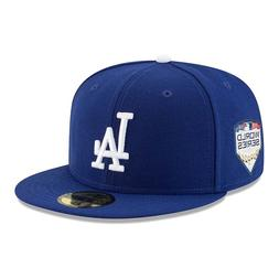 LA Dodgers New Era 2018 World Series Bound On-Field 59Fifty