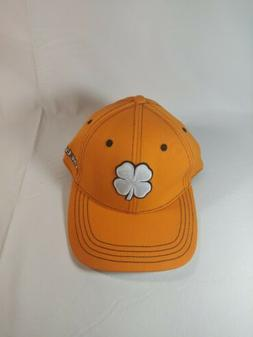 Black Clover live lucky orange Premium Fitted Golf Baseball