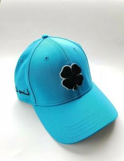 Black Clover Live Lucky Premium Fitted Blue  Flag USA Hat Si