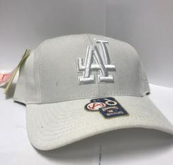 American Needle Los Angeles Dodgers White 1958 Fitted Hat si
